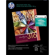 "HP Inkjet Matte Brochure Paper 1.3"" x 8.8"" x 11.2"" White 150 (CH016A)"