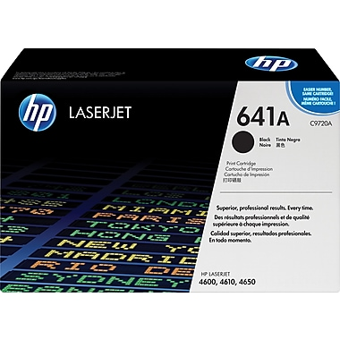 HP 641A (C9720A) Black Original LaserJet Toner Cartridge
