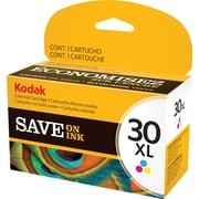 Kodak 30C XL Color Ink Cartridge (1341080), High Yield