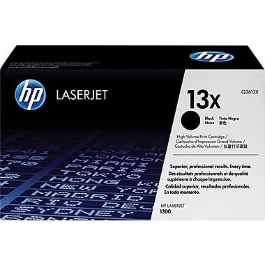 HP 13X (Q2613X) Cartouche de toner HP LaserJet noir à rendement élevé d'origine