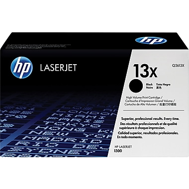 HP 13X (Q2613X) Black High Yield Original LaserJet Toner Cartridge