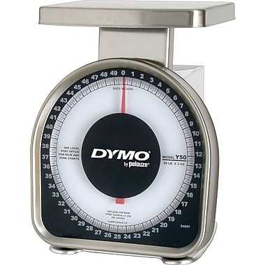 DYMO® Mechanical Shipping Scale, 50 Lbs. (Y50)