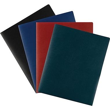 Staples® Poly 2-Pocket Folders