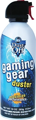 Falcon Dust-Off Gaming Gear Duster, 10 oz.