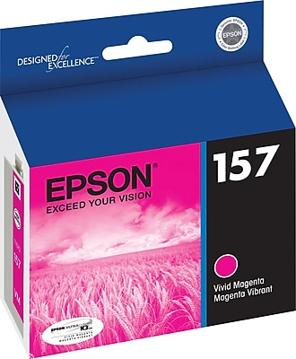 Epson 157 Vivid Magenta Ink Cartridge (T157320)