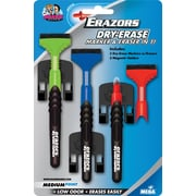 The Board Dudes™ Erazors™ Dry-Erase Markers with Holders, 3/Pack