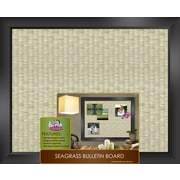 "The Board Dudes™ Sea Grass Bulletin Board, 22"" x 18"""