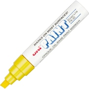 Uni-ball® Uni Paint Marker, Broad Tip, Yellow, Each