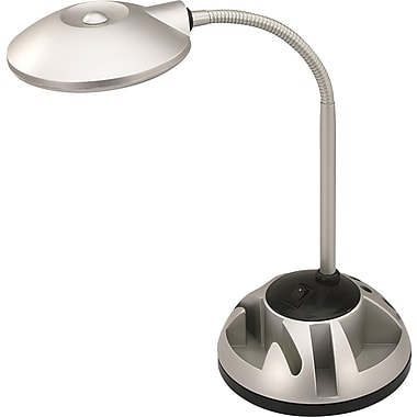 V-light® LED Organizer Desk Lamp, Silver