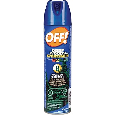 OFF!MD – Chasse-moustiques Régions sauvages pour sportifs