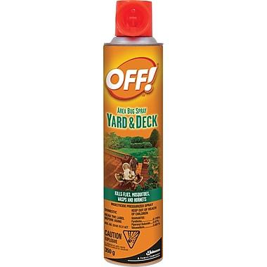 OFF!MD ® Chasse-moustiques extérieur, parterre et terrasse