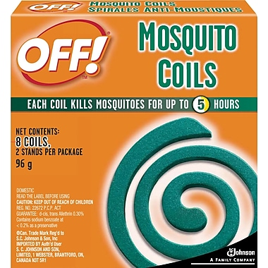 OFF! Mosquito Coils