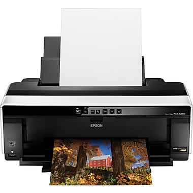 Epson® Stylus Photo® R2000 Color Wide Format Photo Printer