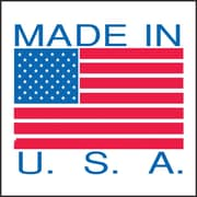 "Staples ""Made in U.S.A."" Labels 2"" x 3"""