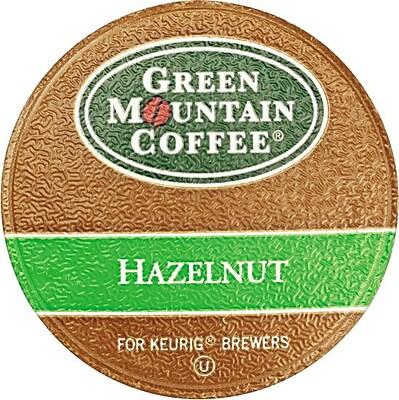 Keurig K-Cup Green Mountain Hazelnut Coffee, Regular, 24/Pack 325943