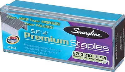 Swingline® S.F.® 4® Premium Staples, 1/4