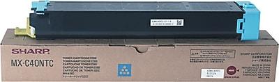 Sharp Cyan Toner Cartridge (MX-C40NTC)
