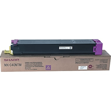 Sharp Magenta Toner Cartridge (MX-C40NTM)