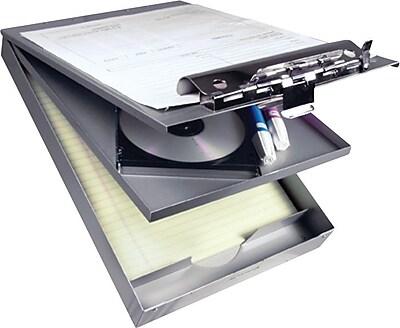 Saunders Aluminum Cruiser Mate Storage Clipboard, Letter, Silver, 8 1/2