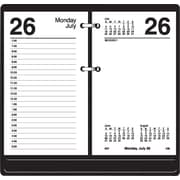"AT-A-GLANCE® Desk Calendar Loose-Leaf Style Base for 3-1/2"" x 6"" Calendar Refills"