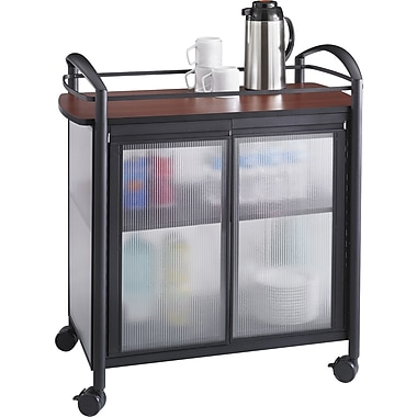 Safco Impromptu Refreshment Cart, 36 1/2