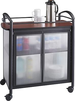 Safco Impromptu Refreshment Cart, 36 1/2