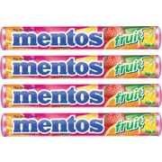 Mentos® Chewy Fruit Tablets, 15 Packs/Box