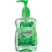 Germ-X® Hand Sanitizer, Aloe, 8 oz.