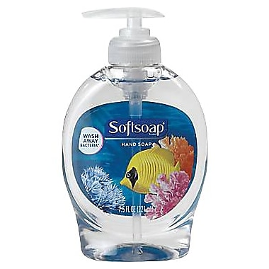 Softsoap® Hand Soap, Aquarium Series, Fresh Scent, 7.5 oz.