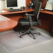 "Staples® Extra-High Pile Carpet Chairmat, Rectangular, 46"" x 60"""