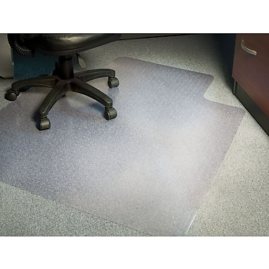 Staples® Low-Pile Chairmat, Traditional, 45