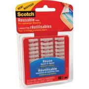 Scotch™ - Onglets réutilisables, 1 po x 1 po, paq./18 onglets