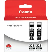 Canon PGI-225BK Black Ink Cartridges (4530B007), 2/Pack