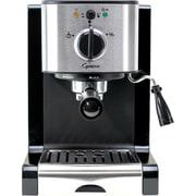 Capresso EC100 Pump Espresso and Cappuccino Machine, Black/Stainless Steel