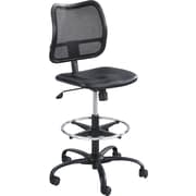 Safco ® Vue™ 3395 Vinyl Extended Height Armless Chair, Black