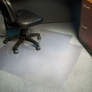 Staples® Medium-Pile/Berber Chairmat, Traditional, Multiple Sizes