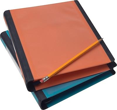 Staples Better Mini 1-Inch D 3-Ring View Binder, Orange (20944)