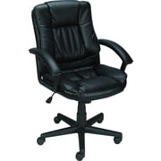 Staples® Mid-Back Bonded-Leather Manager's Chair