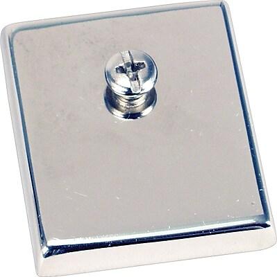 Staples Chrome Heavy-Duty Magnets, 2
