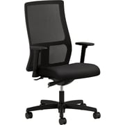 HON Ignition Fabric Computer and Desk Office Chair, Adjustable Arms, Black (IW103NT10.COM) NEXT2017
