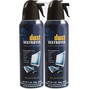2-Pk. Dust Destroyer Dusters 7-oz. Spray Can