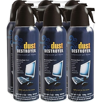 6-Pk. Dust Destroyer Duster, 7oz.