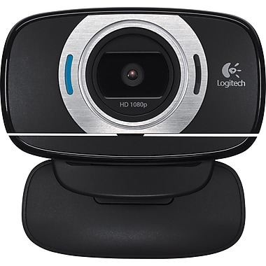 Logitech C615 HD 1080p Computer Webcam with Microphone (960-000733)