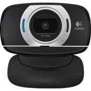 Logitech C615 HD Computer Webcam with Microphone, 1080p, Black  (960-000733)