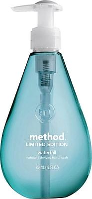 Method Gel Hand Soap, Waterfall, 12 Ounce (00379)