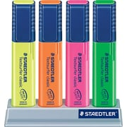 Staedtler® Textsurf Highlighters, Assorted, Chisel, 4/Pack