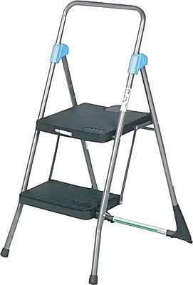 Commercial 2-Step Folding Step Stool, 22-1/2