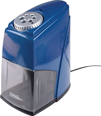 Staples® ClassMate 6-Hole Electric Pencil Sharpener, Blue (21833)