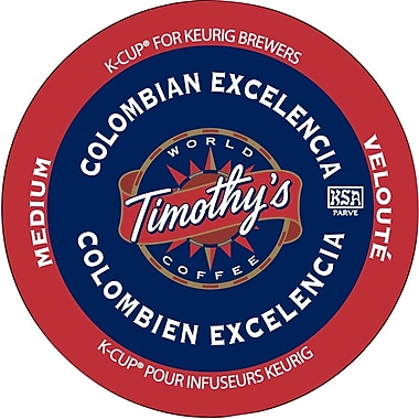 Timothy's Colombian Excelencia K-Cup Refills