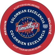 Timothy's Colombian Excelencia K-Cup Refills, 24/Pack